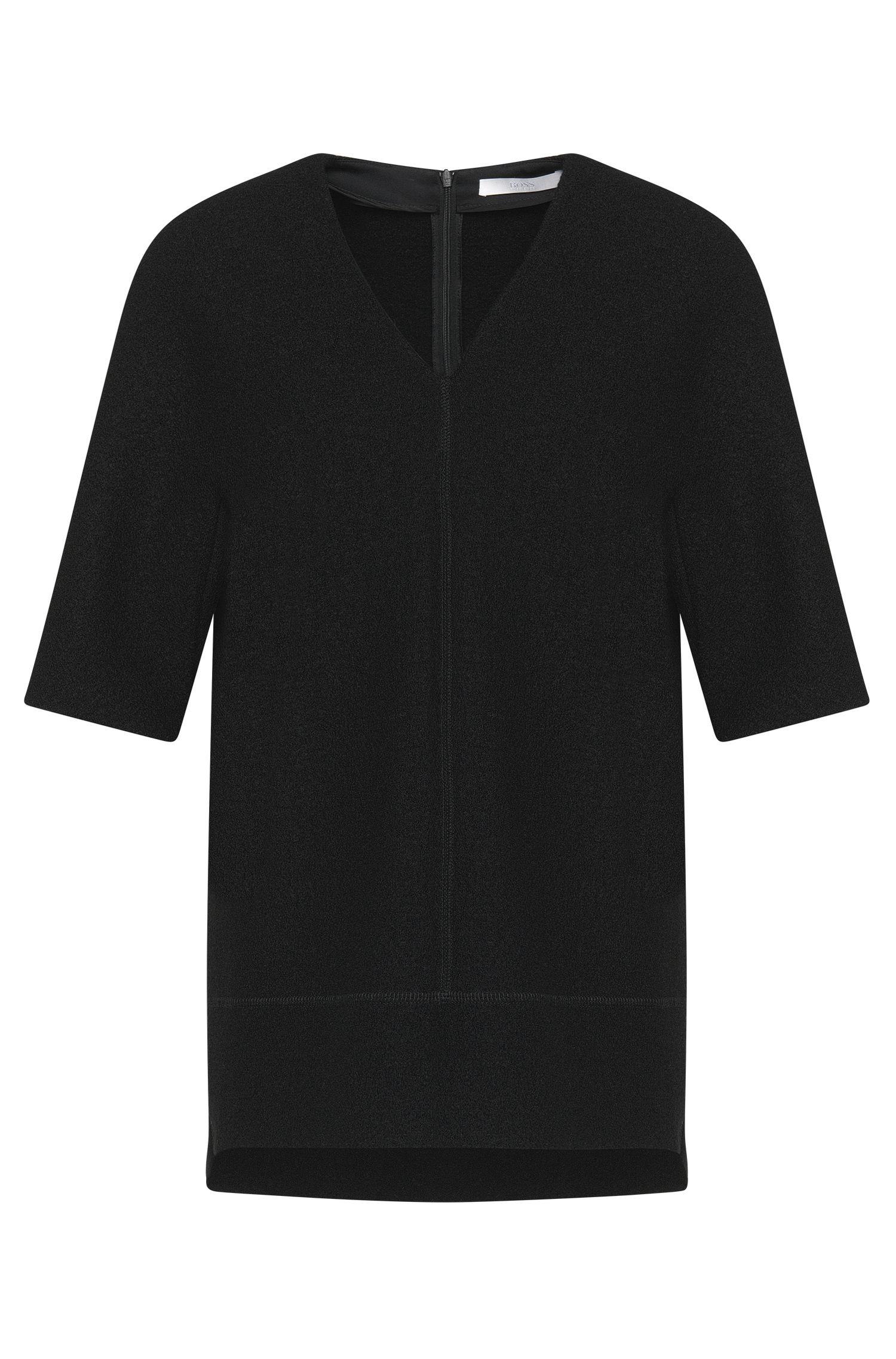 Pullover aus Wolle mit Filz-Struktur: 'Ilisse'