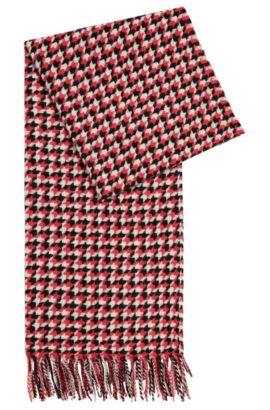 Écharpe à motif en laine vierge: «Levina», Fantaisie