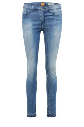 Skinny-fit jeans in a stretchy cotton blend: 'Orange J10 Florida', Blue
