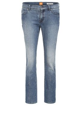 Jeans regular fit in cotone elasticizzato: 'Orange J31 Odessa', Blu