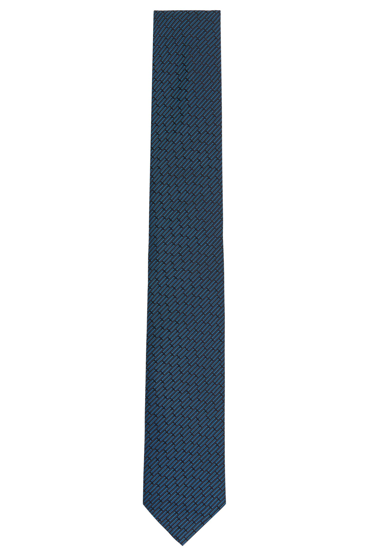 Finely patterned Tailored pure silk tie: 'T-Tie 6 cm'