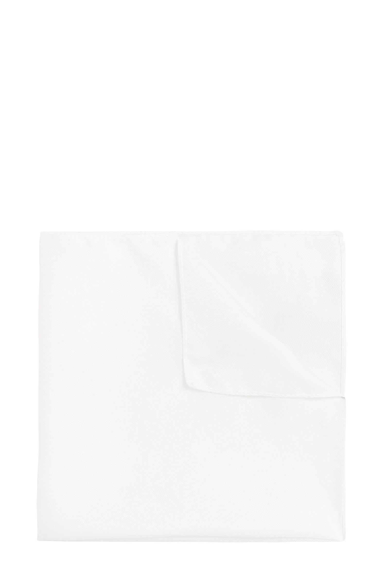 Pochette da taschino in seta tinta unita: 'Pocket sq. 33x33cm'
