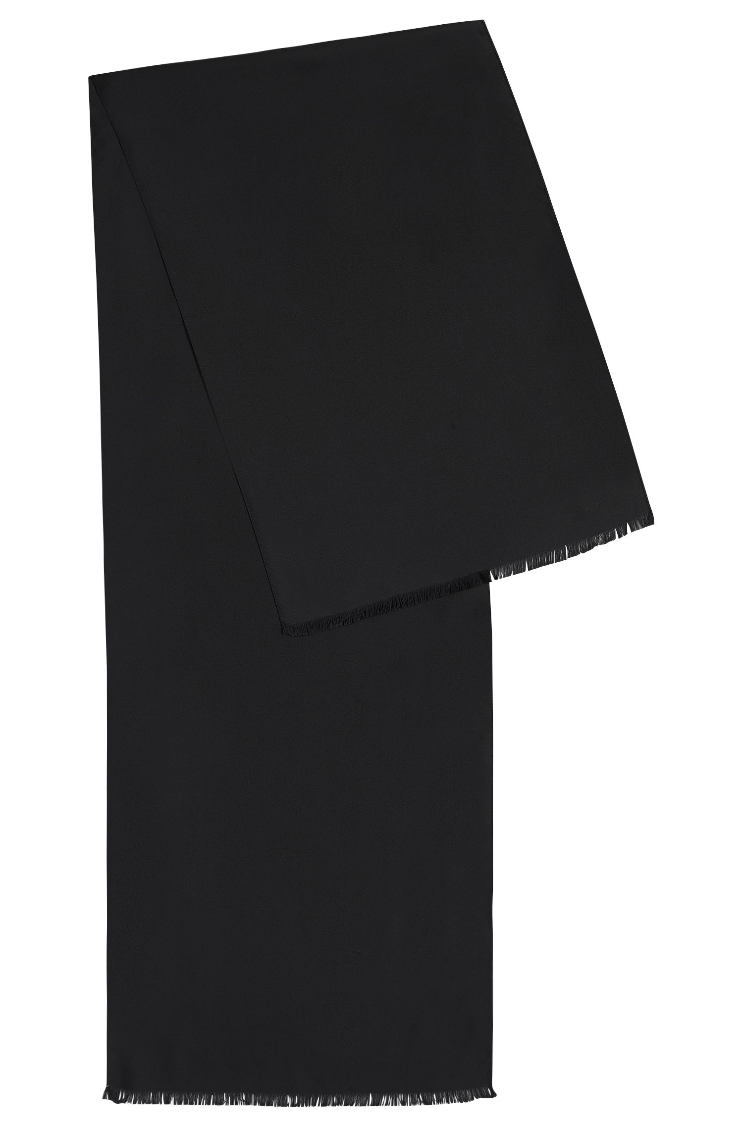 Sciarpa in seta tinta unita: 'Scarf 140x35cm'