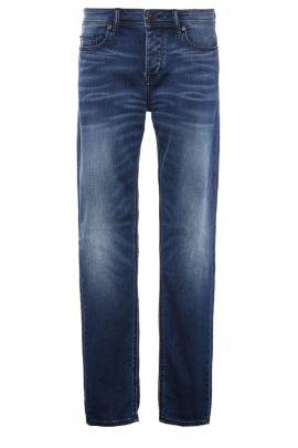 Jeans tapered fit in misto cotone elasticizzato: 'Orange90', Blu