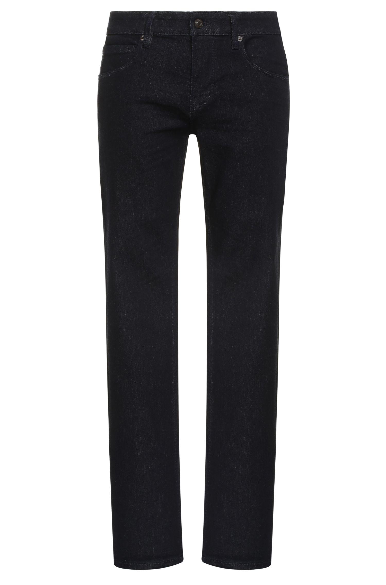 Slim-fit jeans in stretch-cotton blend: 'Orange63'
