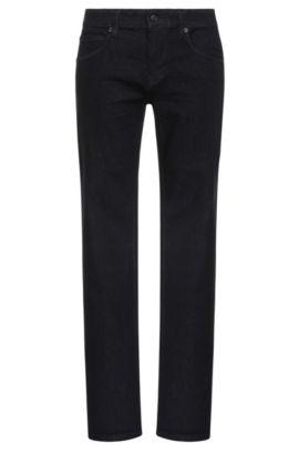 Slim-Fit Jeans aus elastischem Baumwoll-Mix: ´Orange63`, Dunkelblau