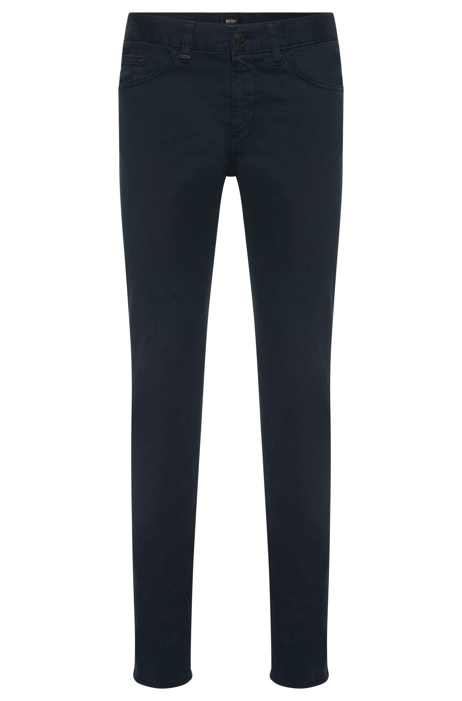 Jeans Slim Fit en coton stretch: «Delaware4-20»