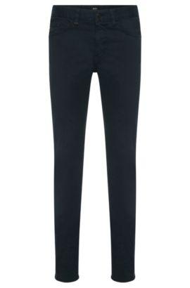 Jeans slim fit in cotone elasticizzato: 'Delaware4-20', Blu scuro