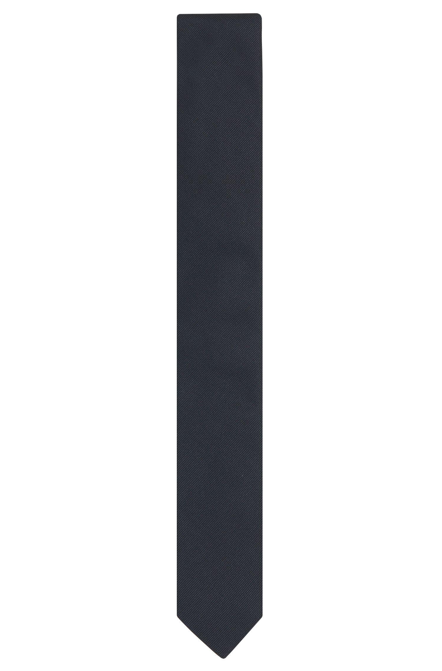Cravatta realizzata in Italia in seta jacquard