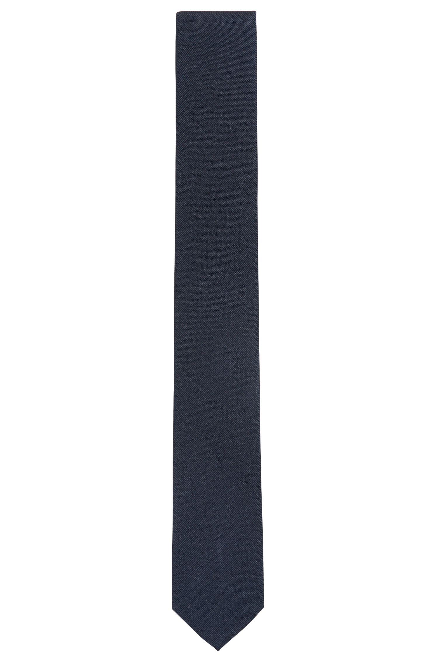 Cravate jacquard en soie confectionnée en Italie