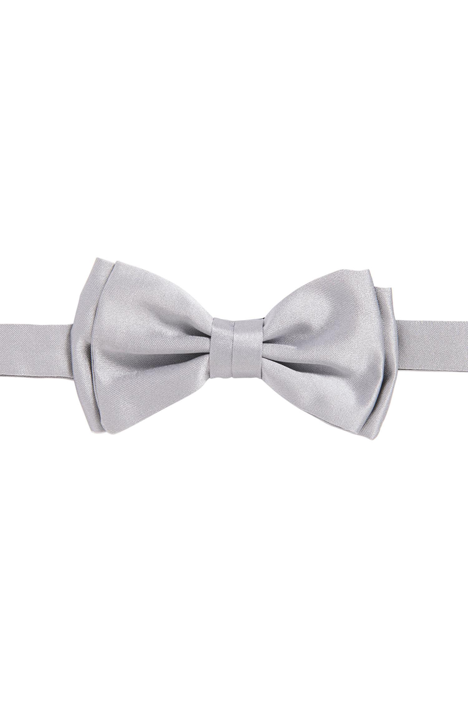 Butterfly bow tie in jacquard silk