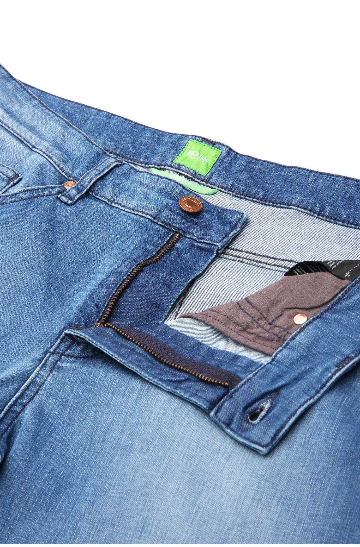 Vaqueros slim fit en algodón elástico con lavado: 'C-DELAWARE1'