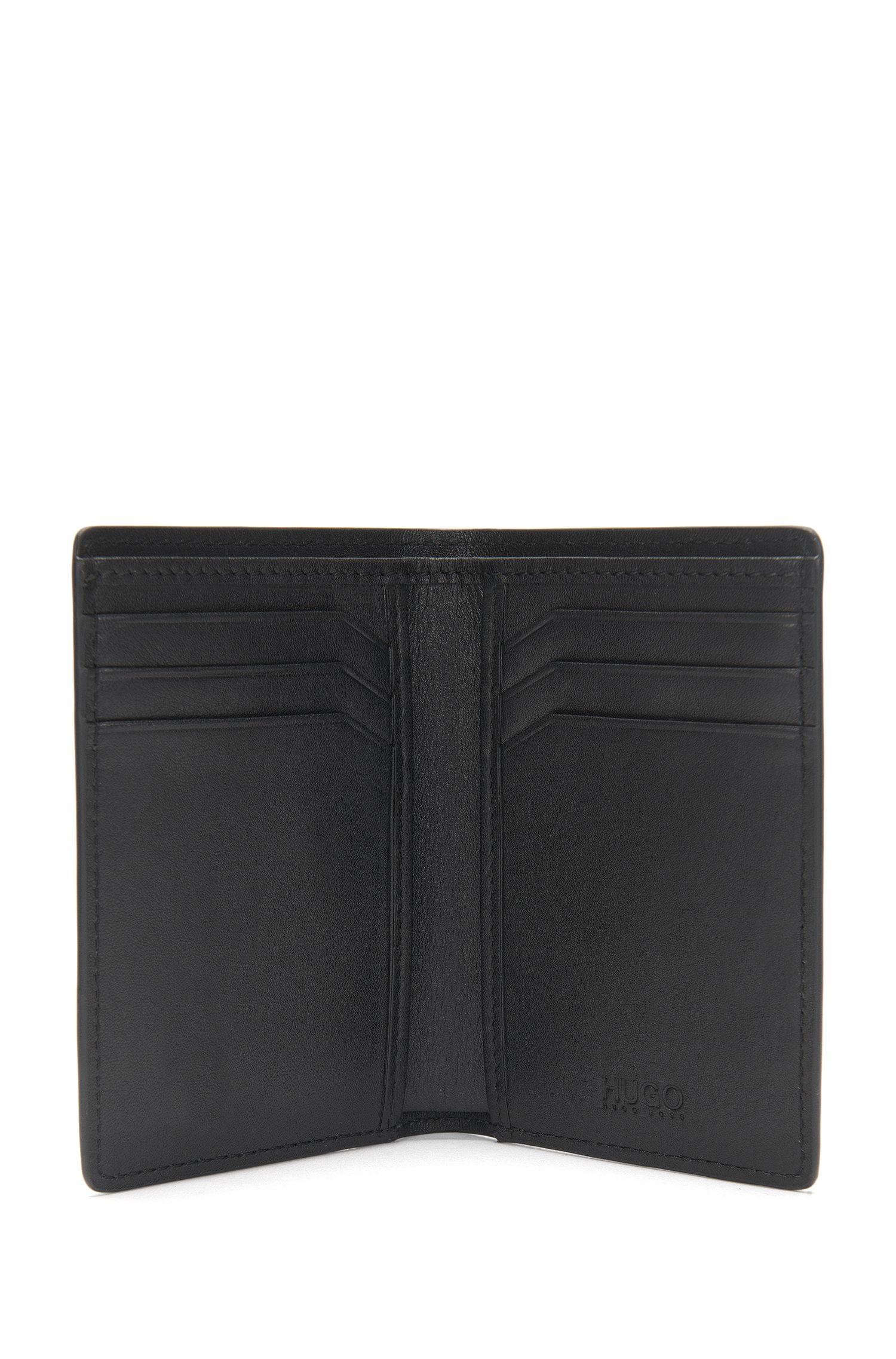 Large leather card case: 'Subway_Bifold'