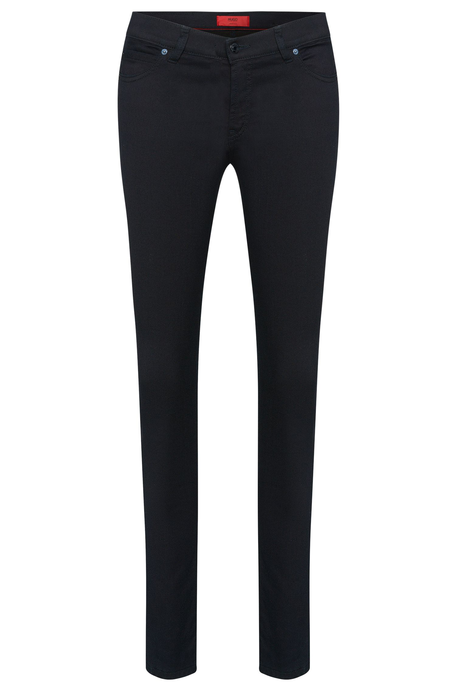 Jeans Super Skinny Fit en coton mélangé extensible: «Georgina»