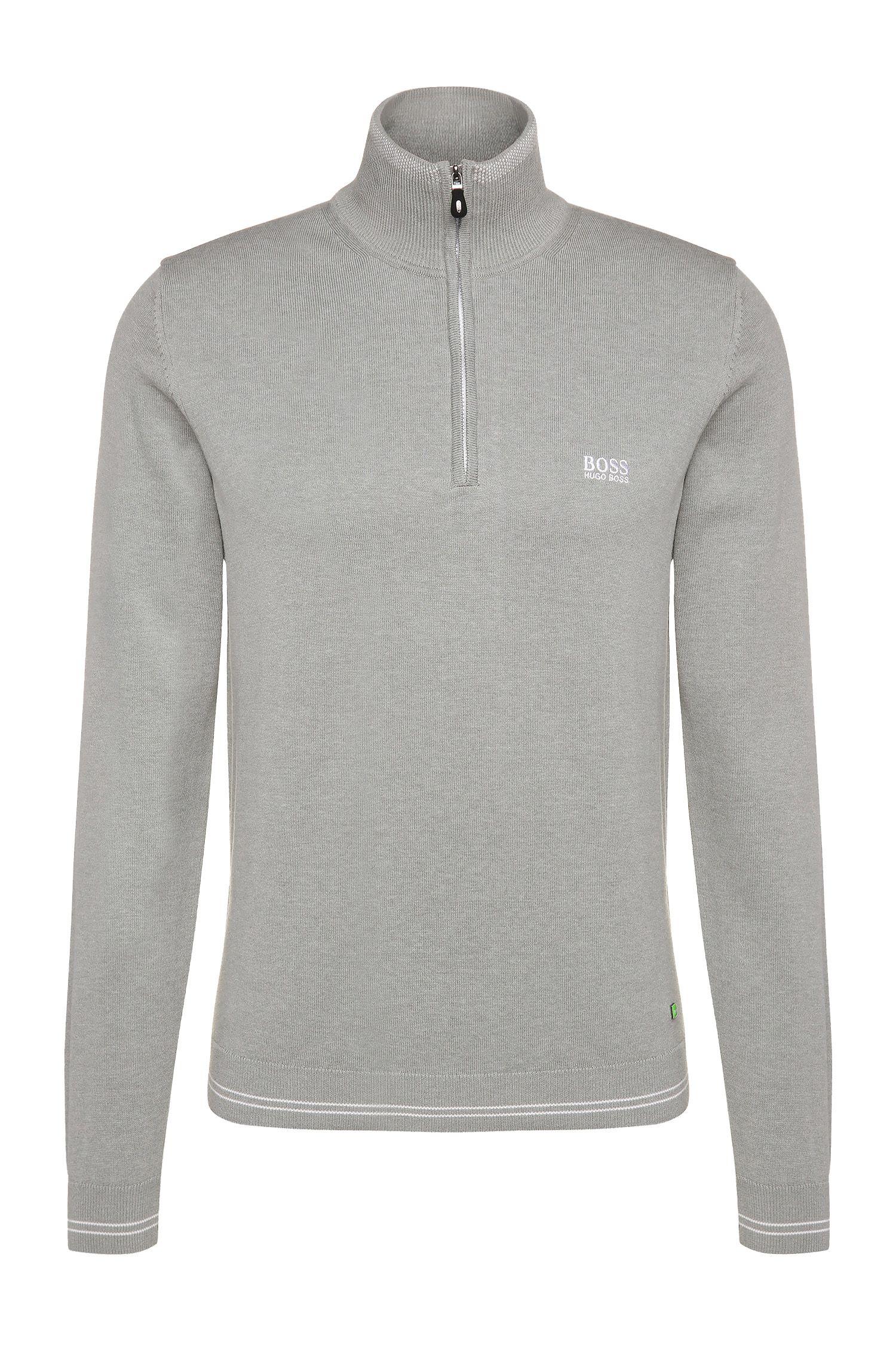 Jersey slim fit en mezcla de algodón: 'Zime_S17'