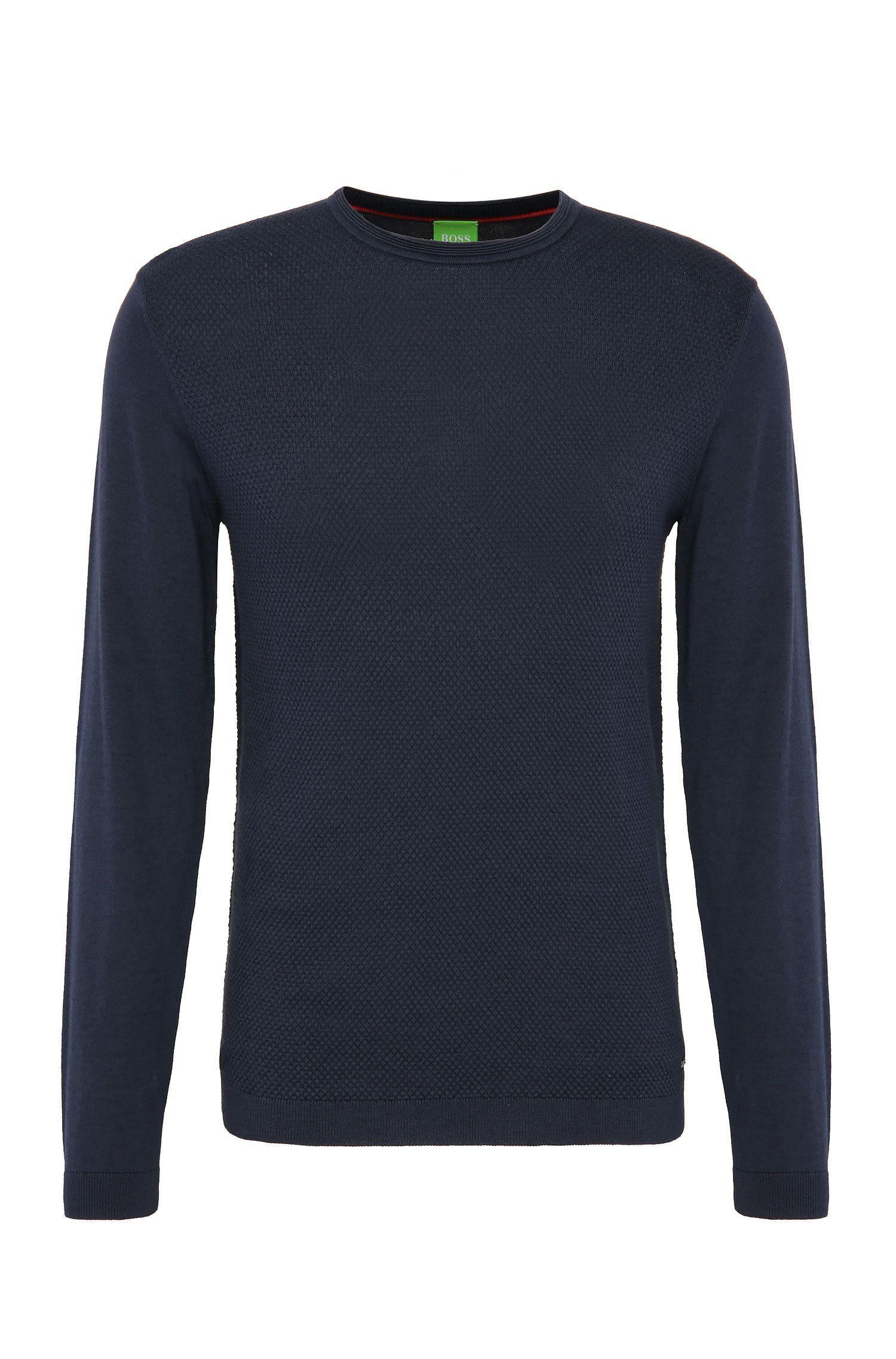 Maglione in maglia regular fit in cotone con lana: 'Ritt'