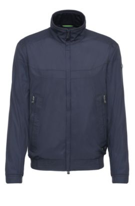Outdoor jacket in material blend in bomber jacket style: 'Jakes 2', Dark Blue