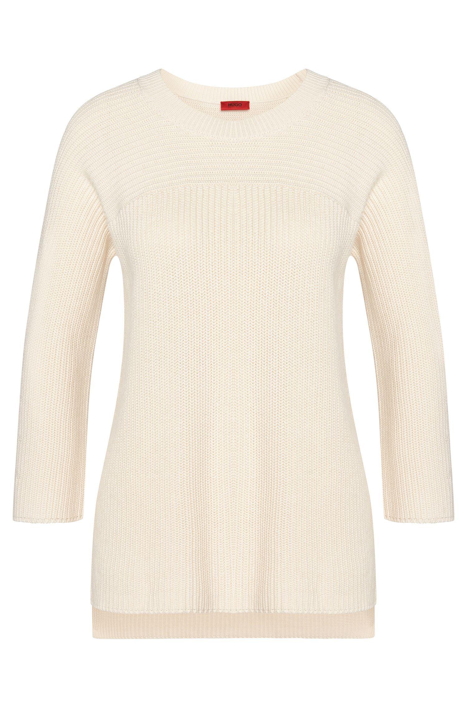 Jersey liso en mezcla de algodón con viscosa y seda: 'Saloma'