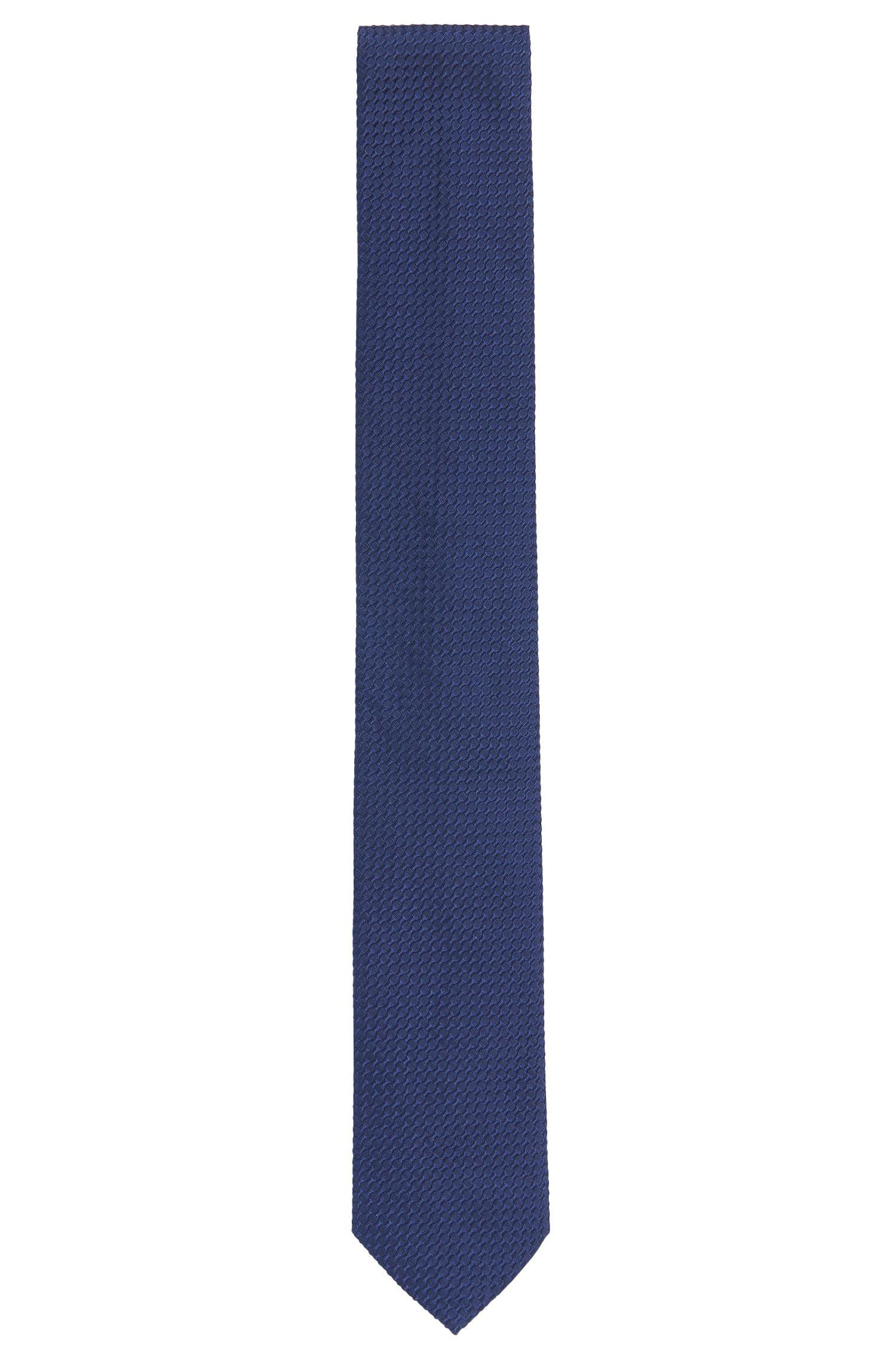 Cravate en soie structurée: «Tie 6 cm»