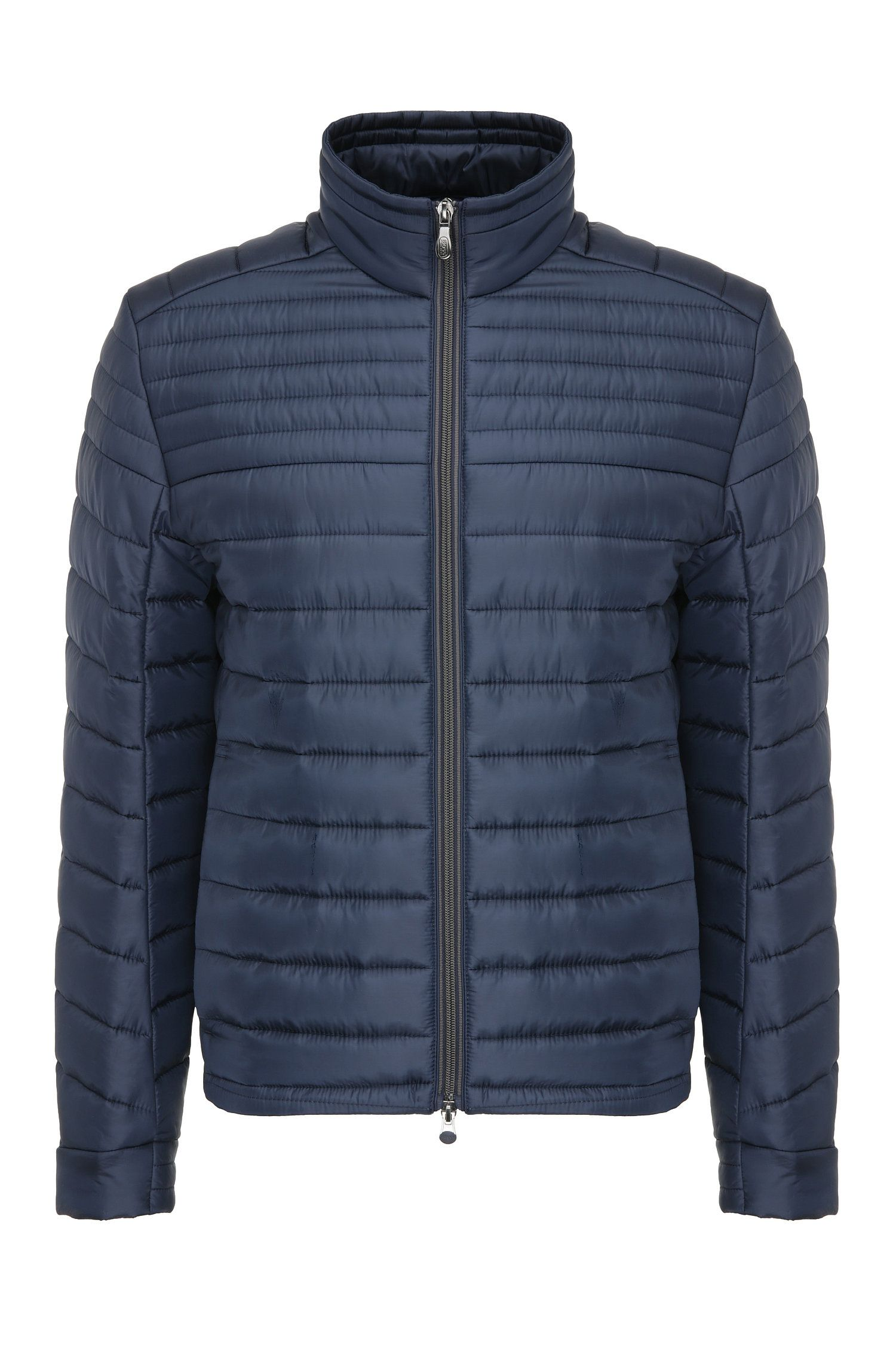 Leichte Regular-Fit Steppjacke aus Material-Mix: ´Jeon 2`