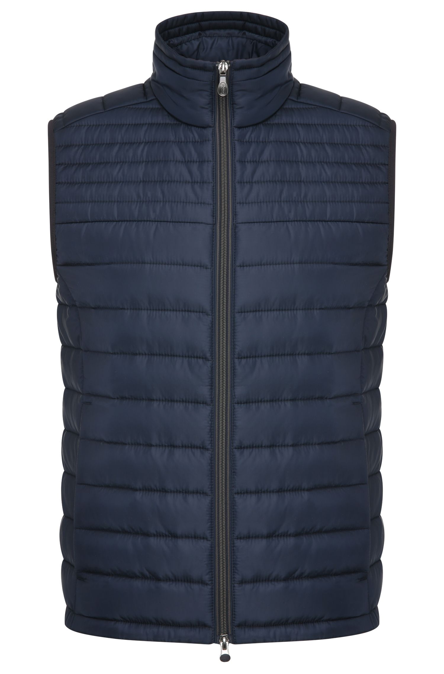 Quilted waistcoat in material blend: 'Veon 2'