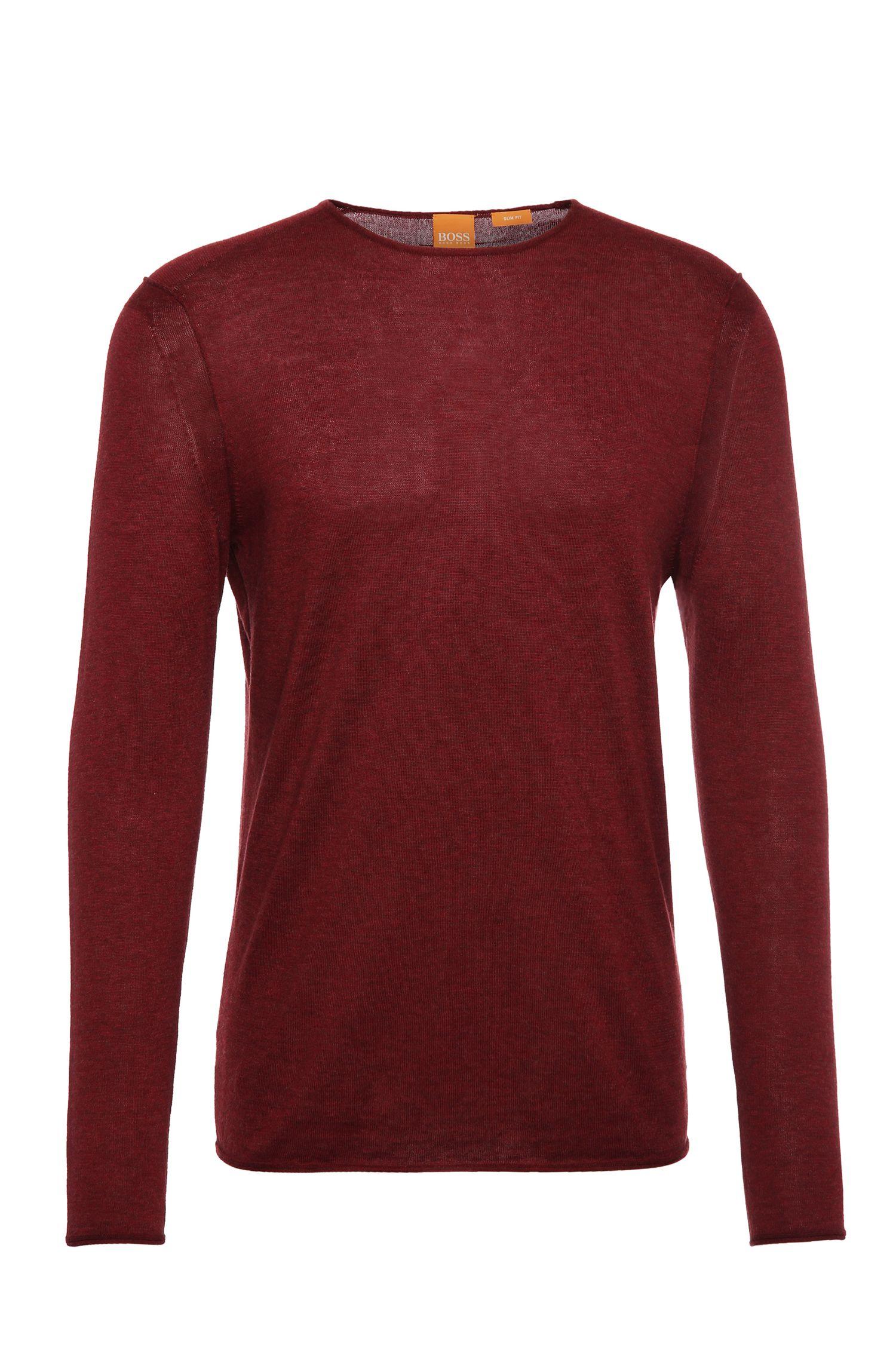 Jersey de punto slim fit en algodón: 'Kwamero'