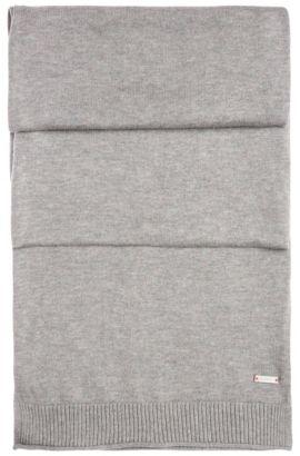 Sciarpa in maglia in cotone: 'Kapono', Grigio chiaro