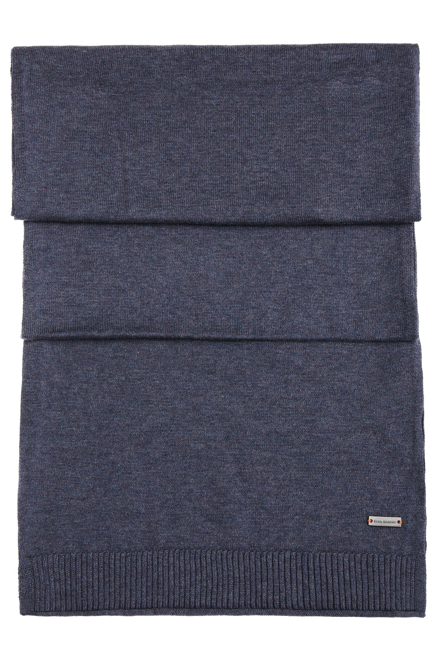 Knit scarf in cotton: 'Kapono'