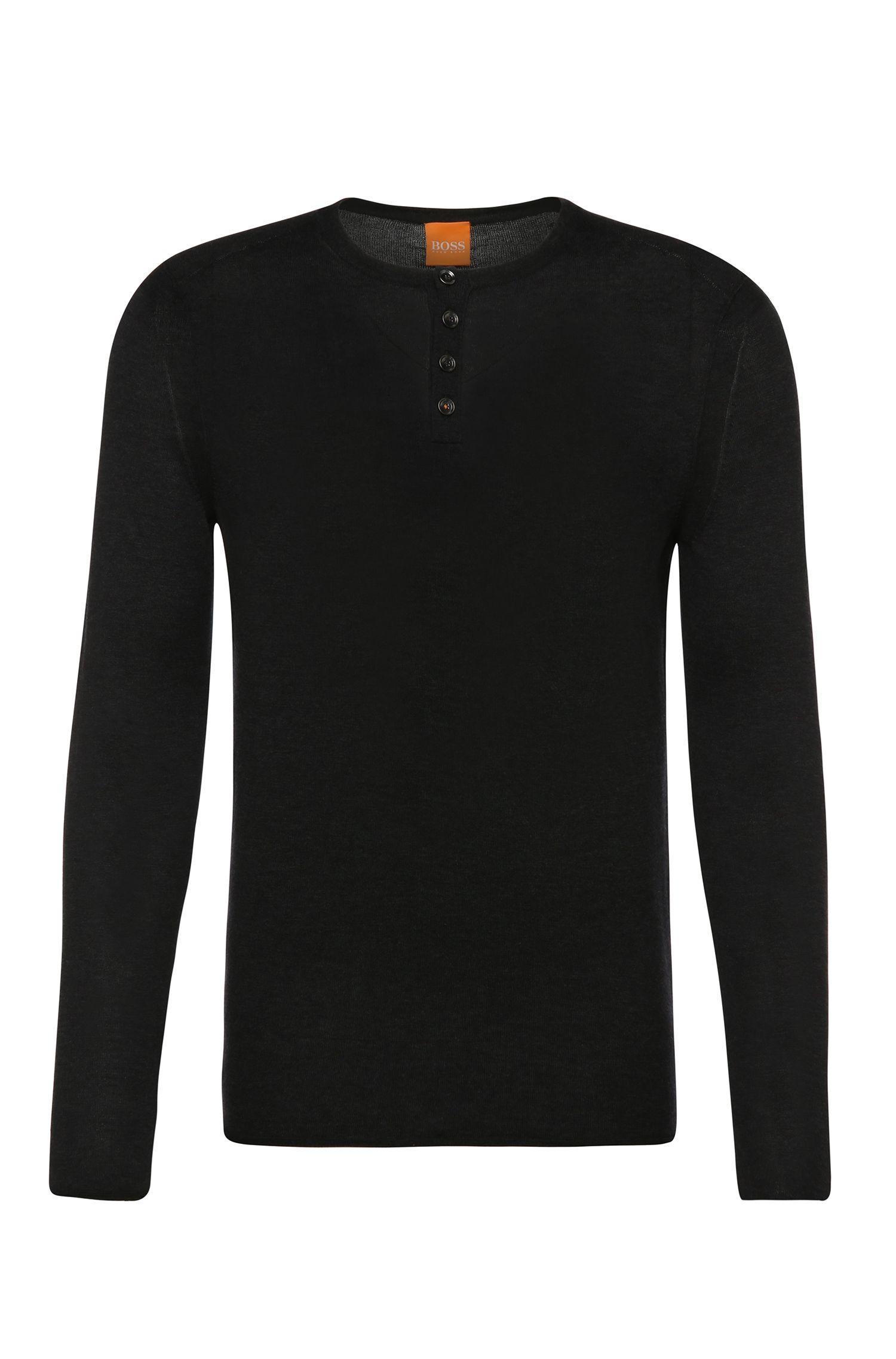 Maglione slim fit in maglia di cotone leggera: 'Koastly'