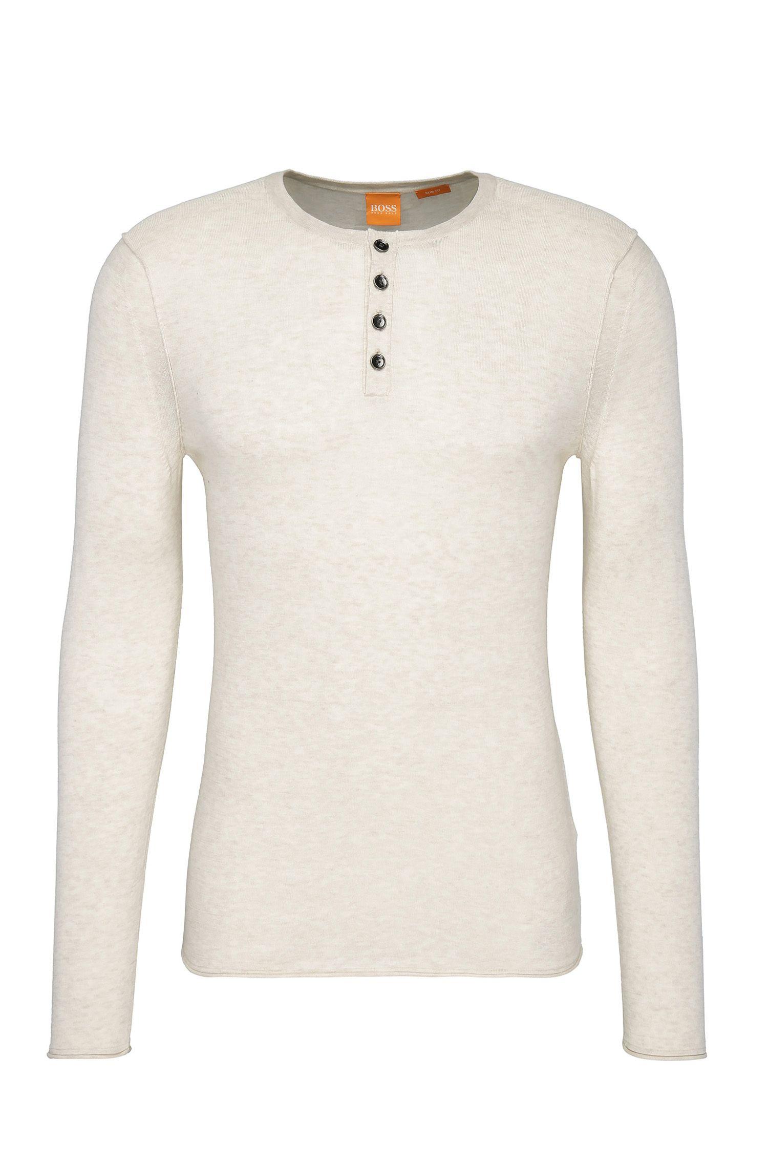 Jersey slim fit en punto de algodón ligero: 'Koastly'