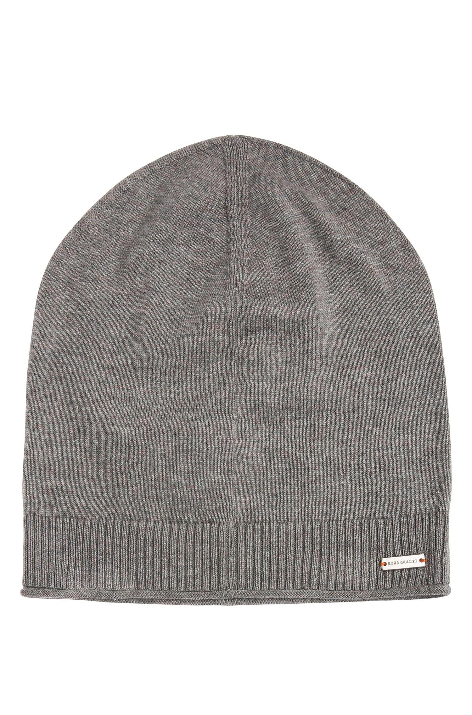 Knit cap in cotton: 'Kapino'