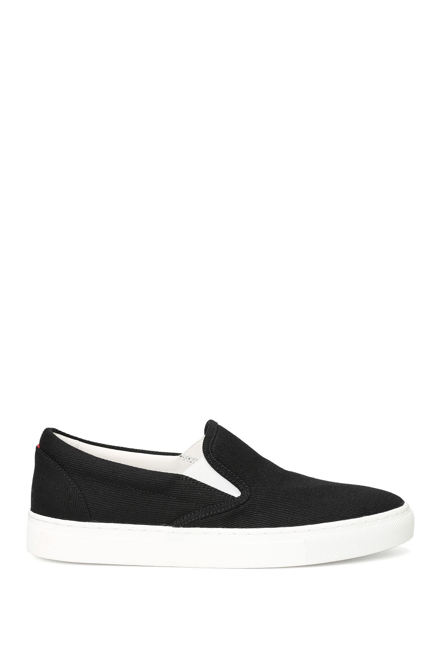 Schnürlose Sneakers aus Baumwolle: 'Cleah-F'