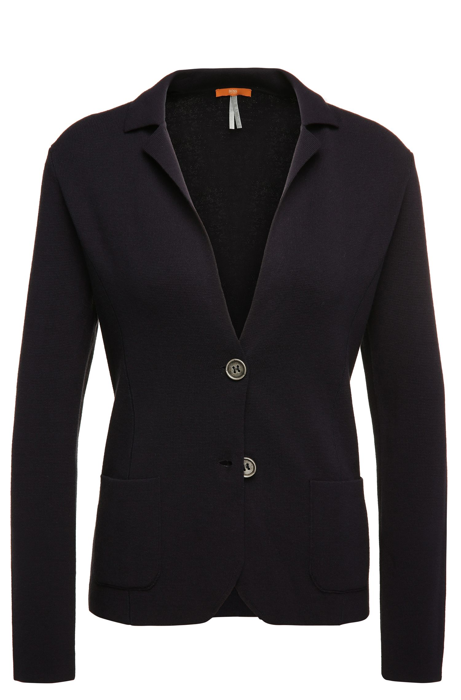 Cardigan in blazer style: 'Ieslettina'