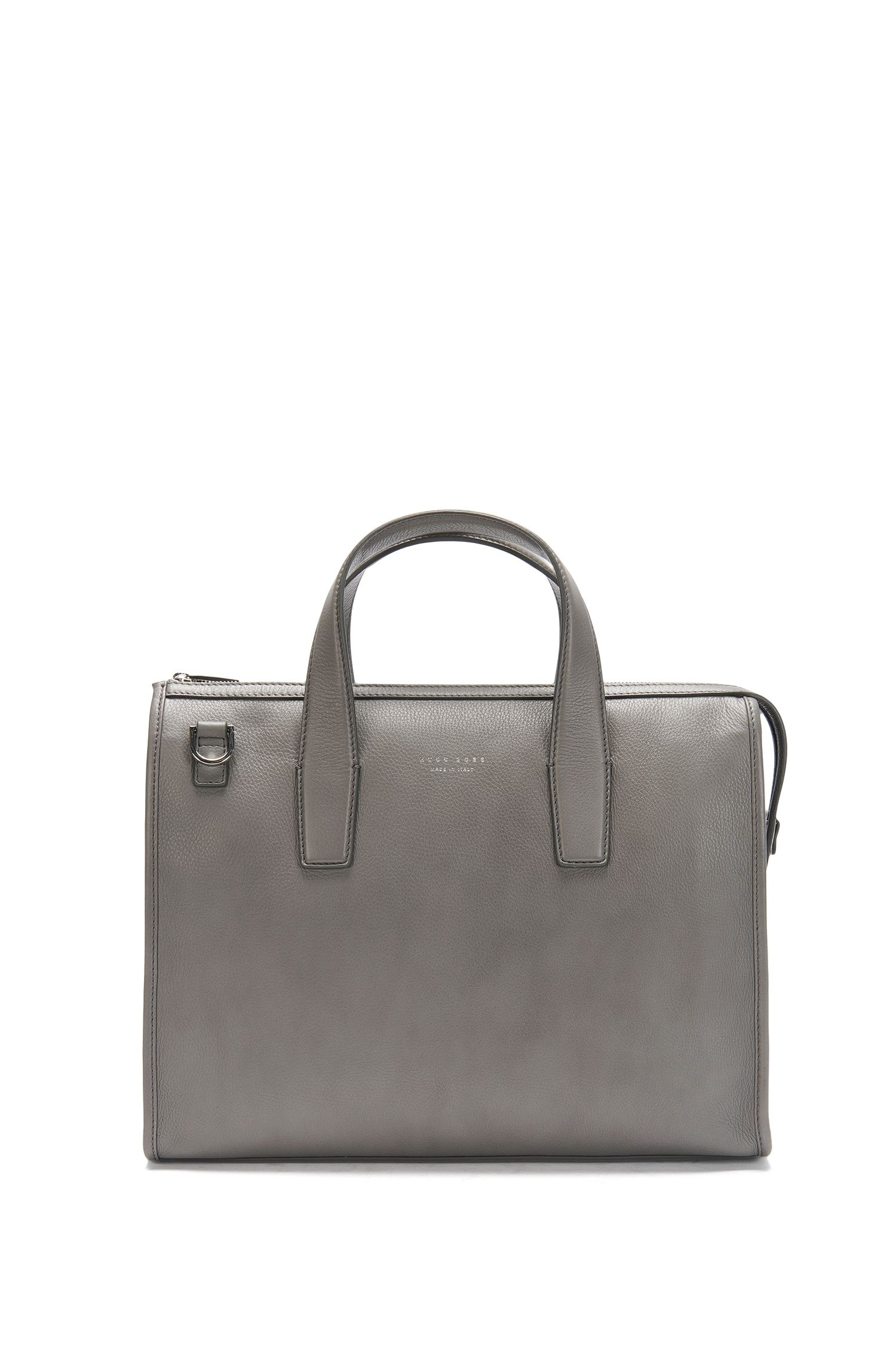 Borsa in pelle con venature: 'Elegance_Slim doc'