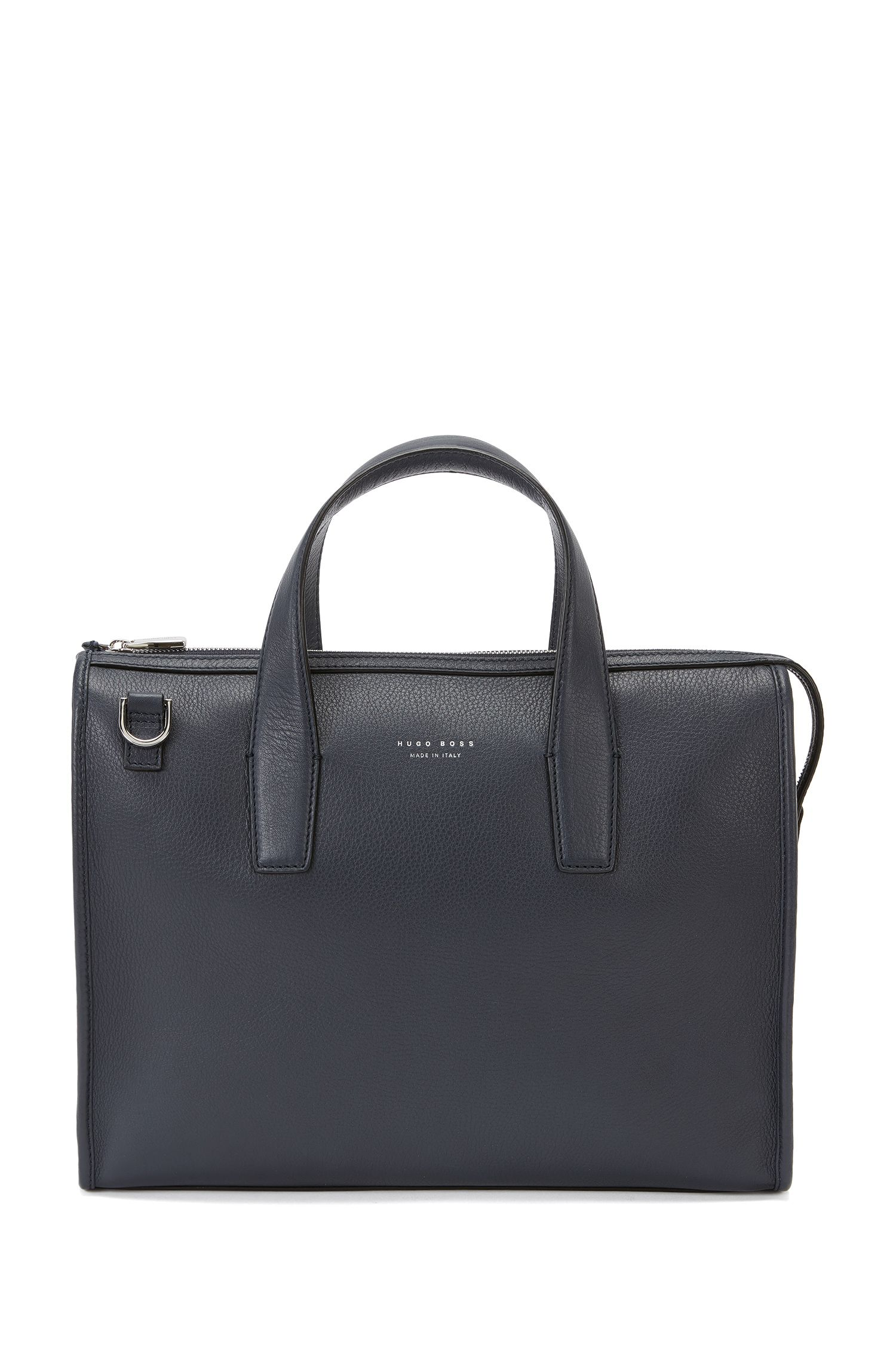 Bag in grained leather: 'Elegance_Slim doc'