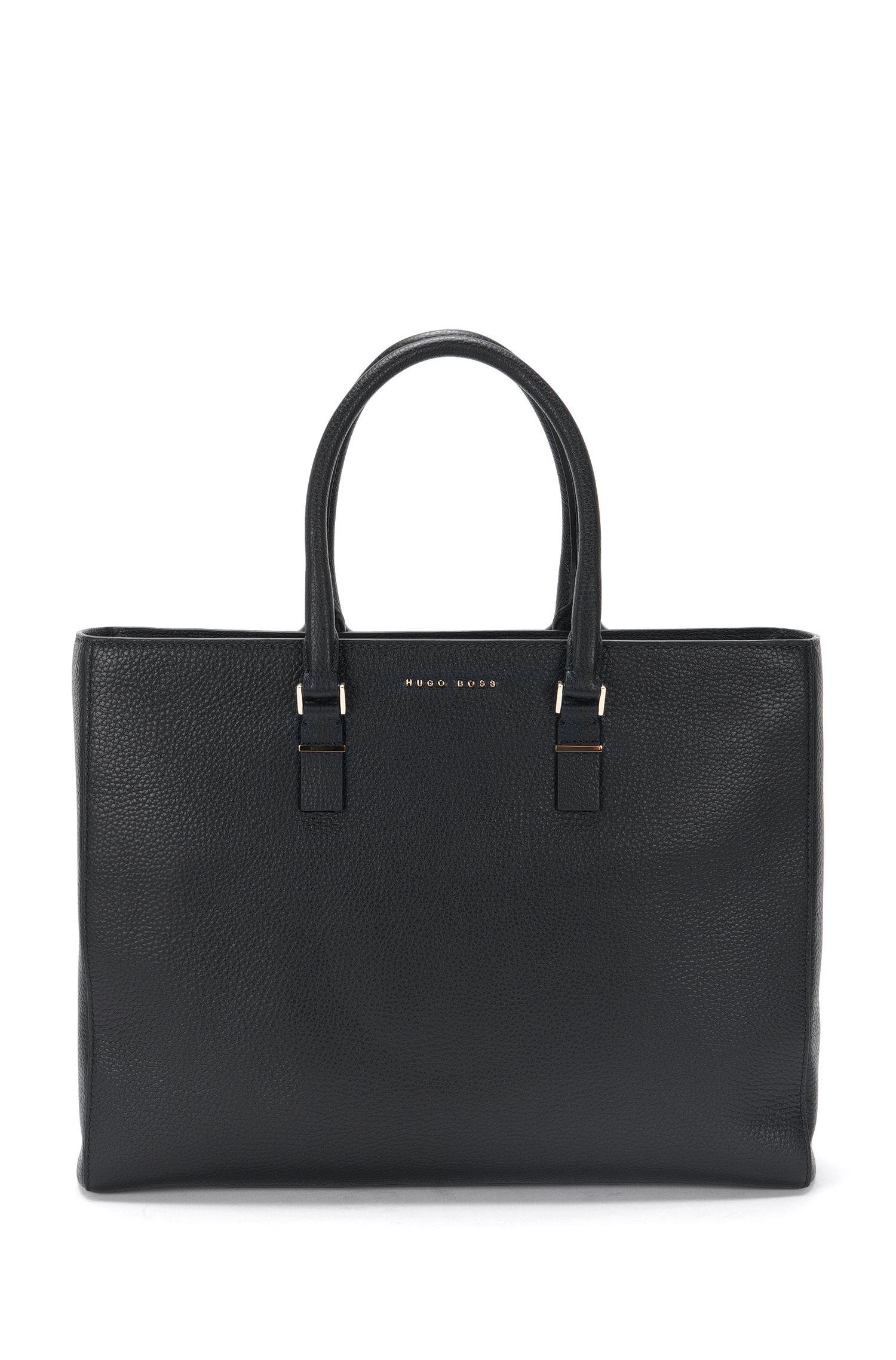 Workbag van luxueus Italiaans leer uit de Luxury Staple-collectie van BOSS