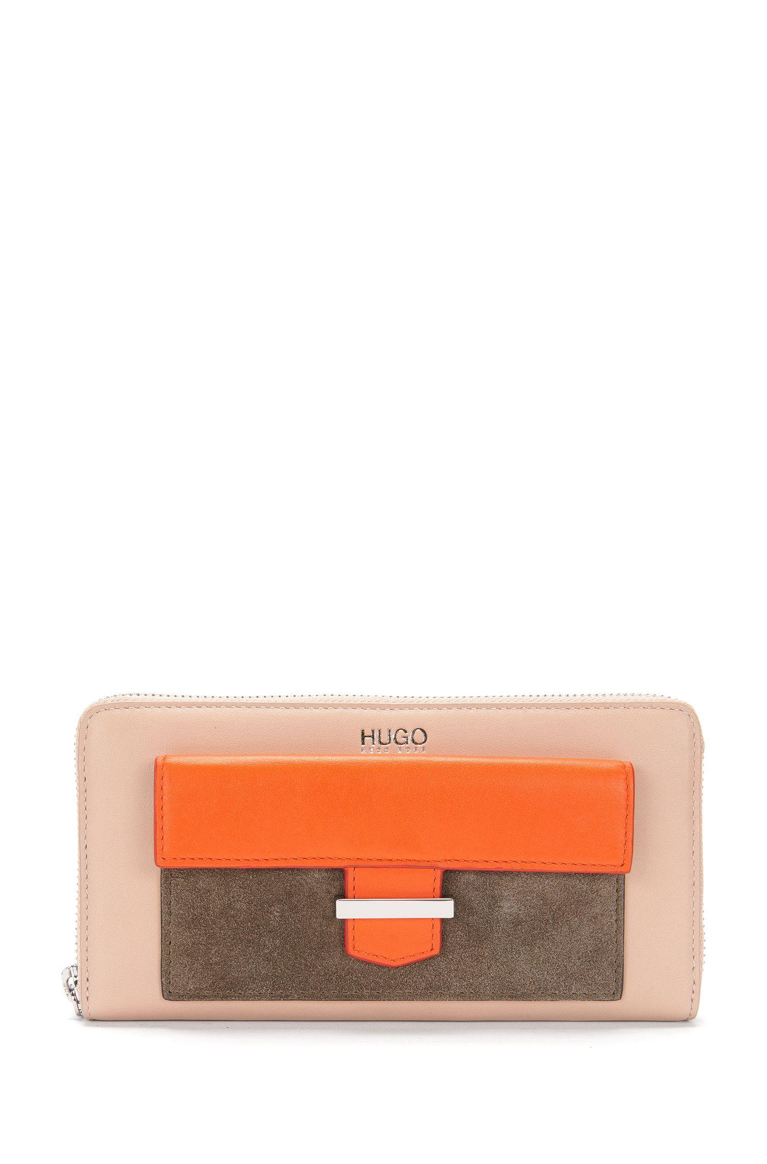 Porte-monnaie en cuir au design multicolore: «Philo»