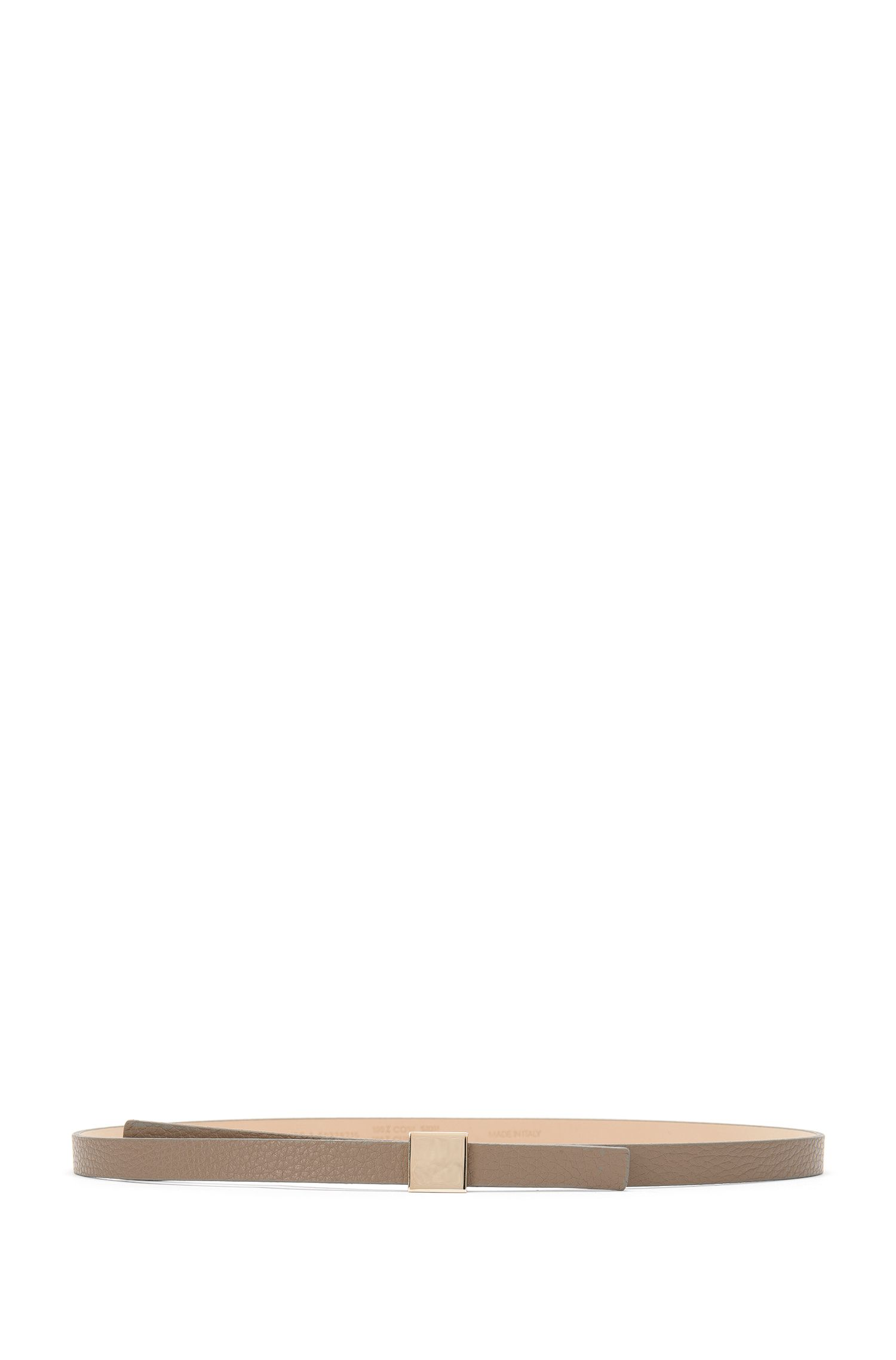 Schmaler Gürtel aus Leder: 'Bliss-A'