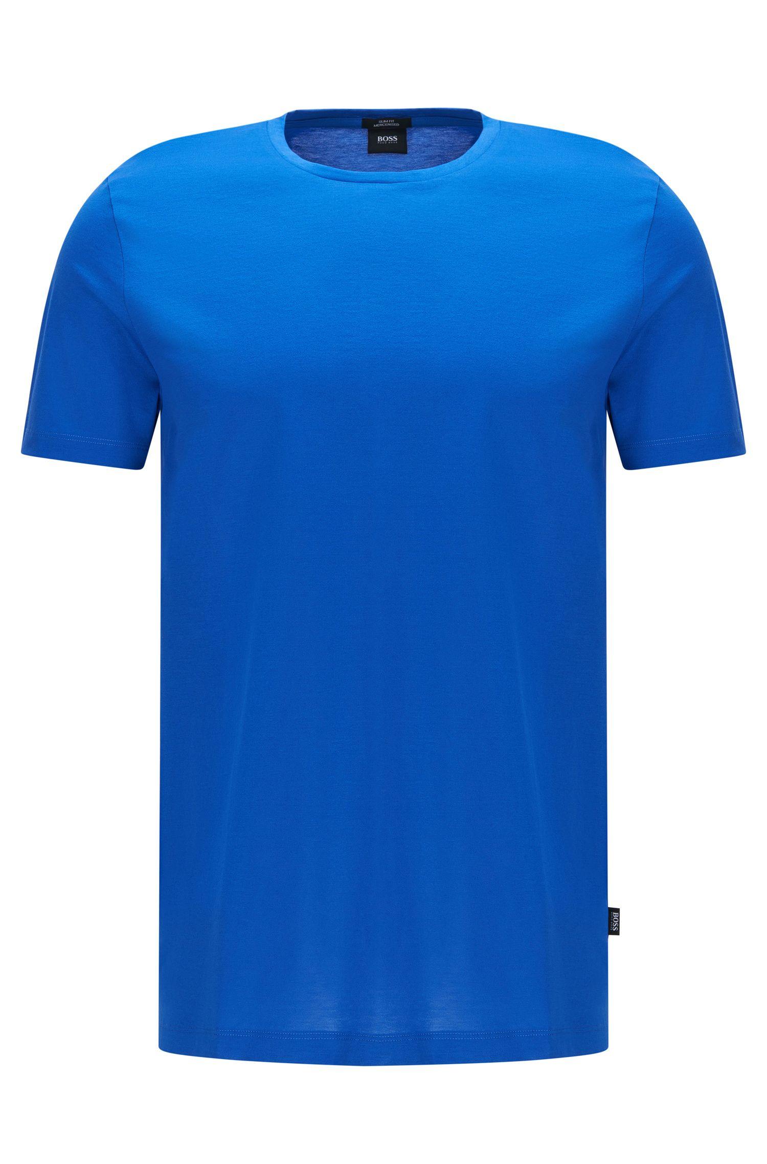 Slim-fit t-shirt in mercerised cotton: 'Tessler 52'