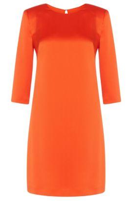Vestido con entalladura decorativa en la espalda: 'Kaitlyn', Naranja