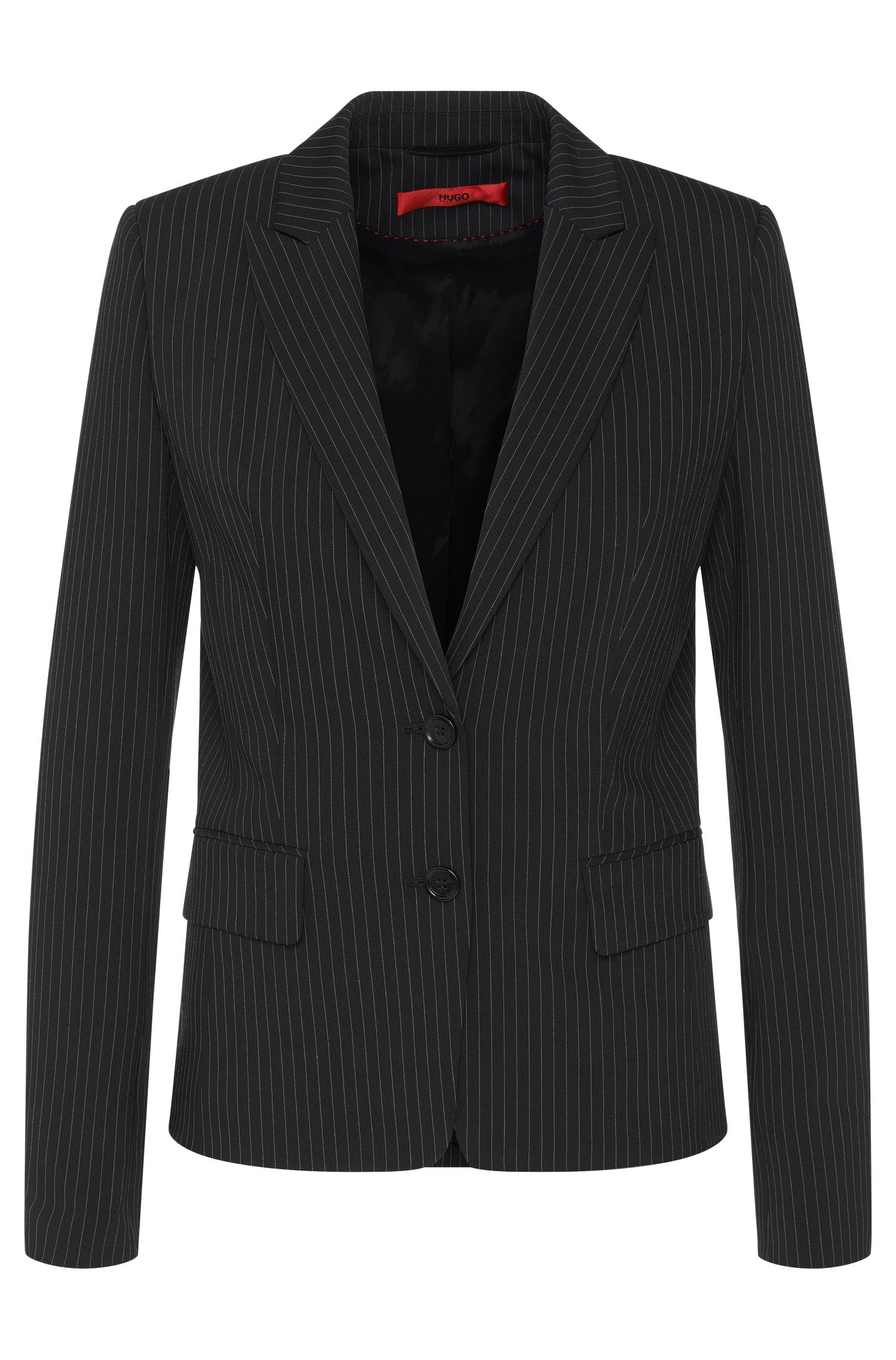 Fitted blazer with pinstripes: 'Alonie'