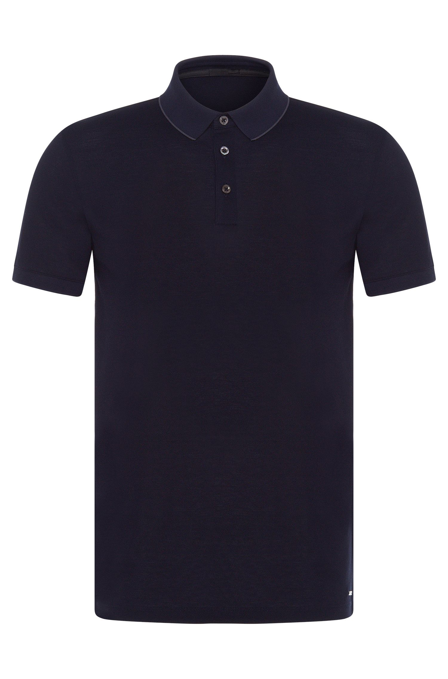 Polo Slim Fit en coton : « Penrose 09-WS »