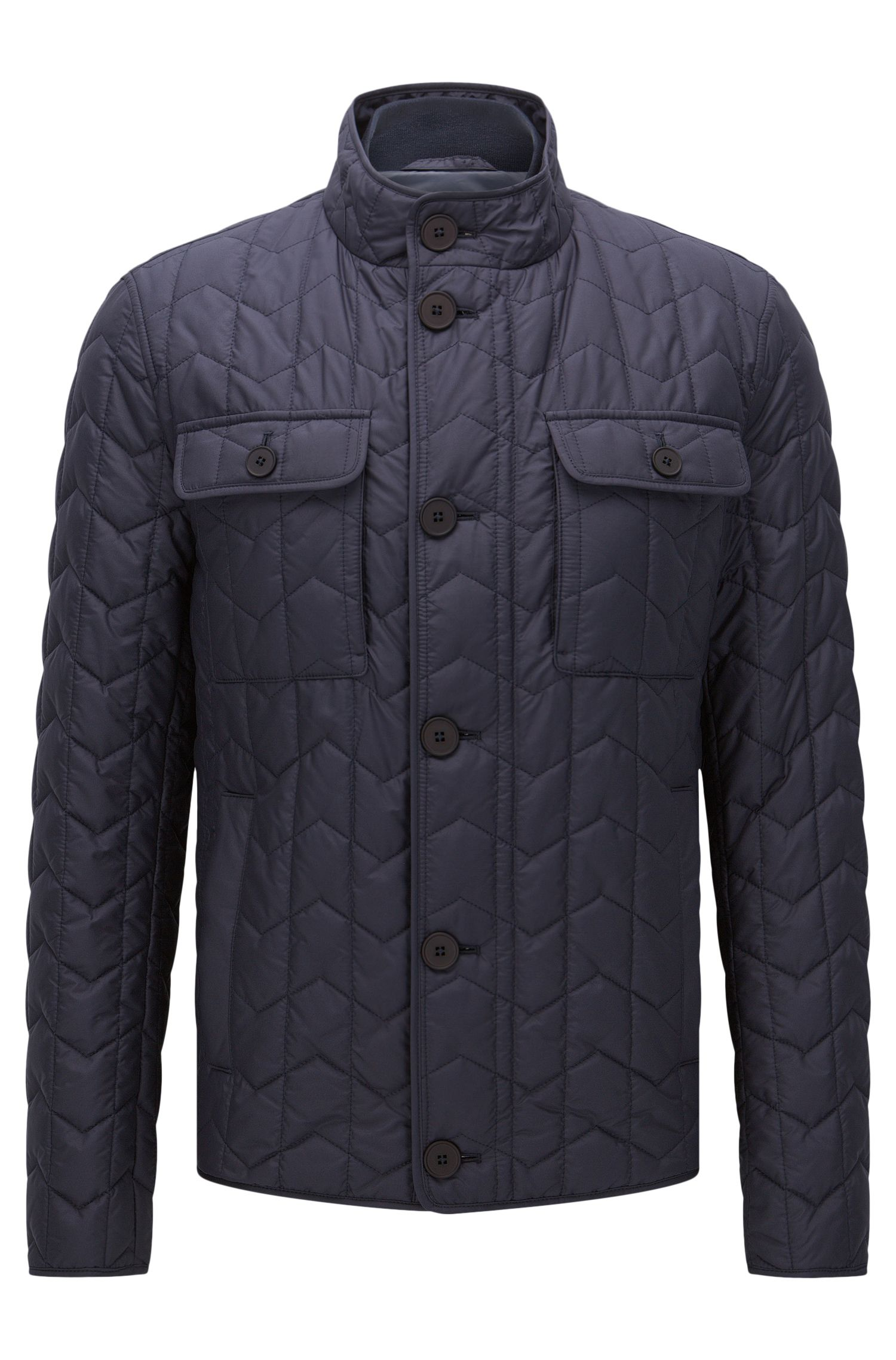 Quilted jacket with lightweight lining: 'Camano'