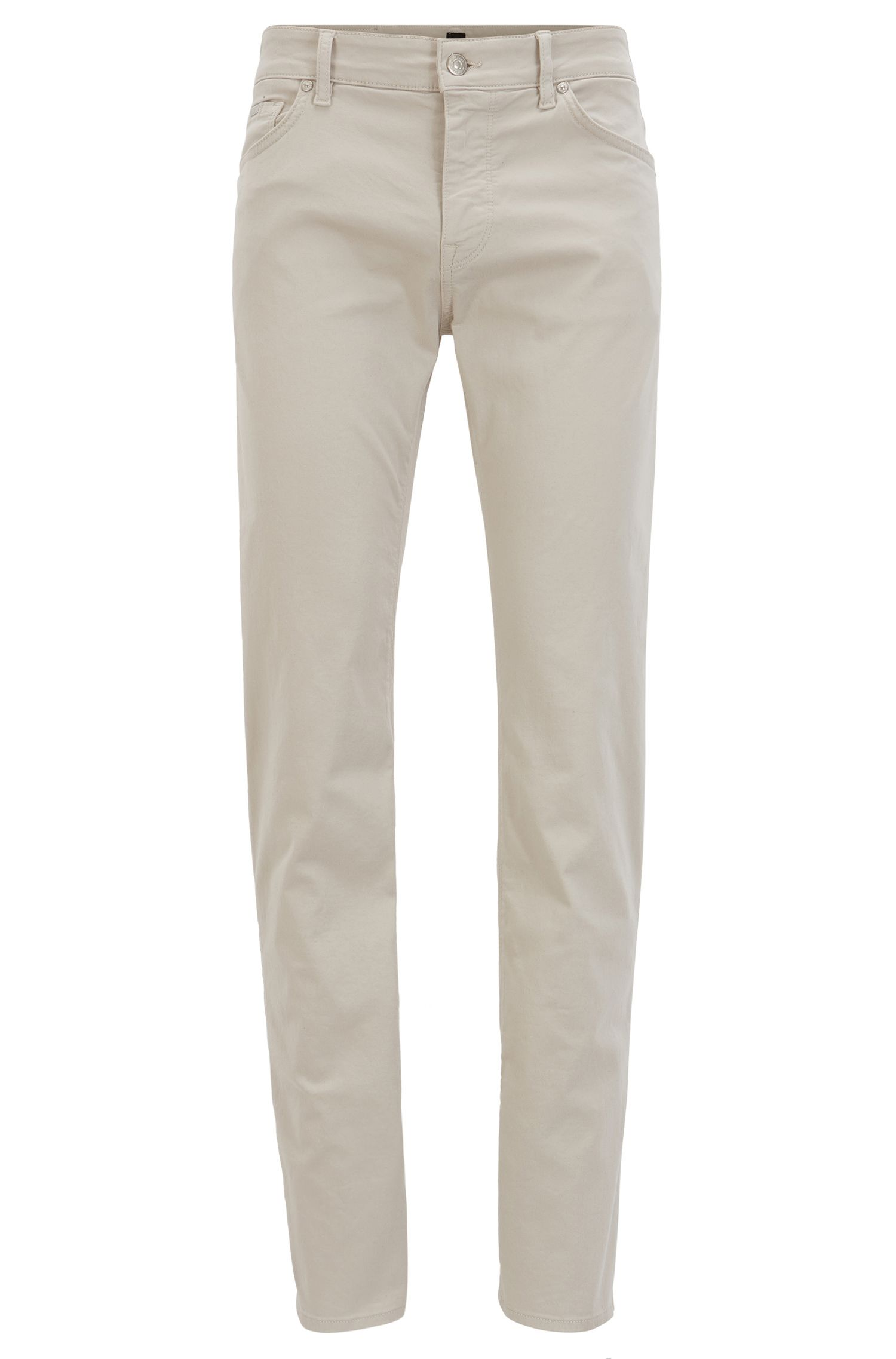 Regular-Fit Jeans aus schimmerndem Stretch-Denim