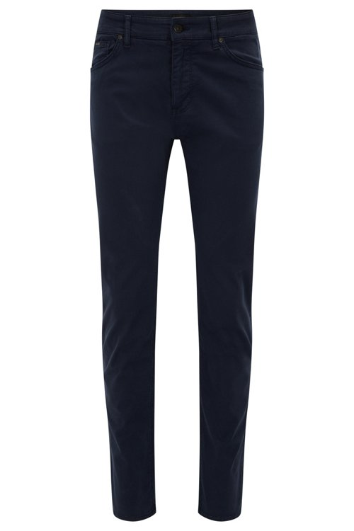 Hugo Boss - Regular-Fit Jeans aus schimmerndem Stretch-Denim - 1