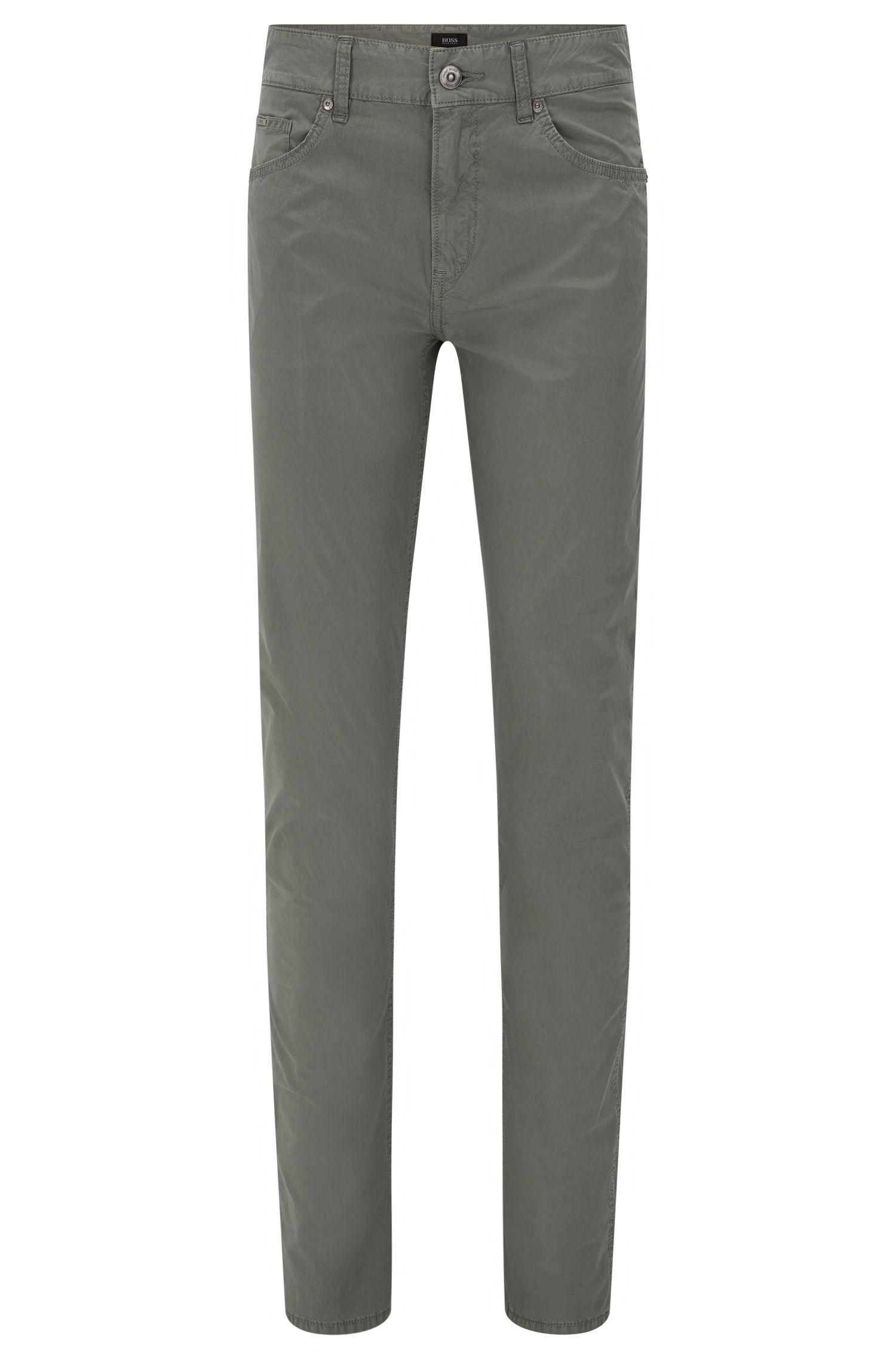 Slim-Fit Hose aus Stretch-Baumwolle: 'Delaware3-20'