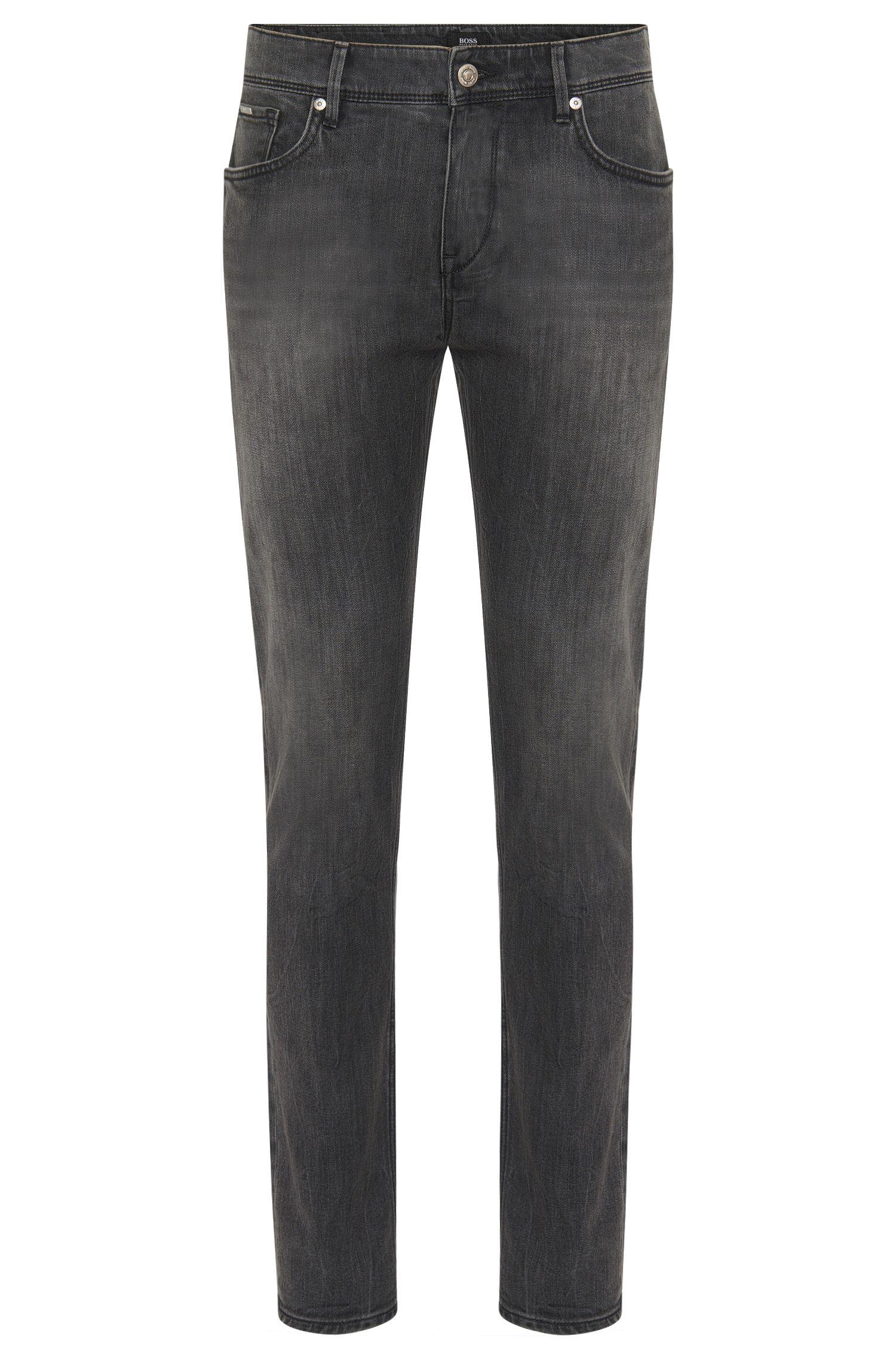 Slim-fit jeans in stretch cotton: 'Charleston3'