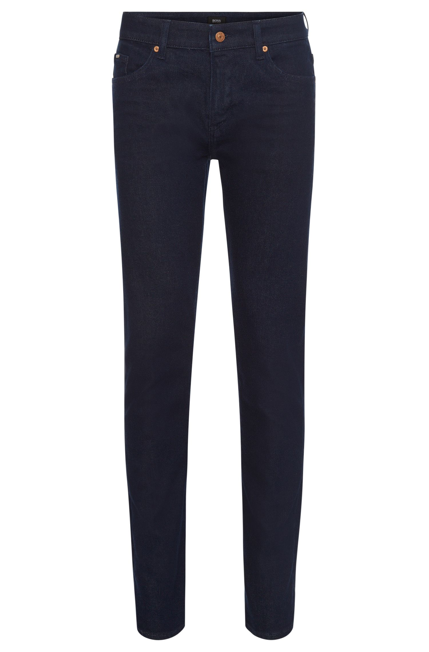 Slim-fit jeans in stretch-cotton blend: 'Delaware3-1'
