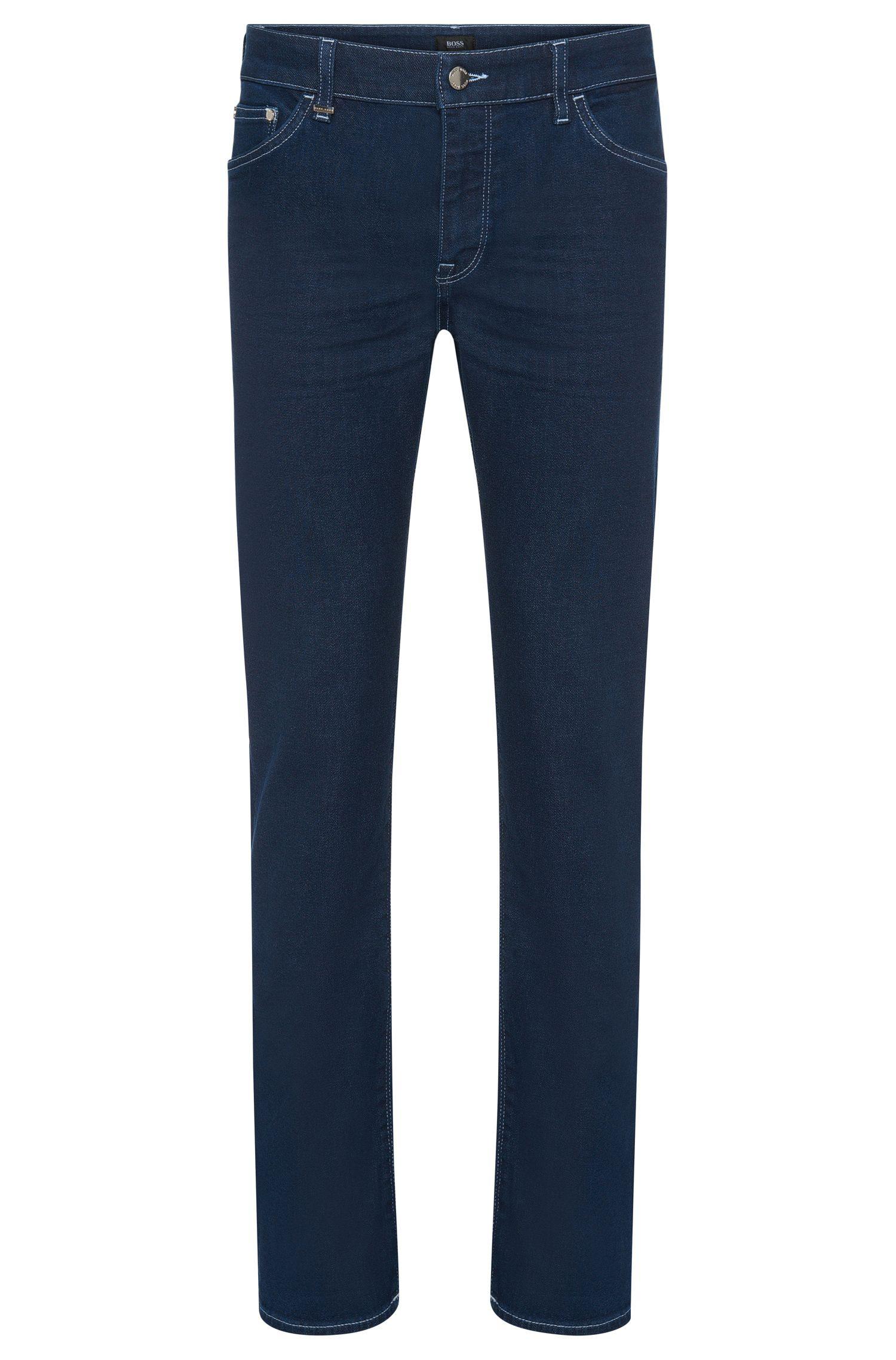 Regular-Fit Jeans aus elastischem Baumwoll-Mix in Rinsed-Optik: 'Maine3'