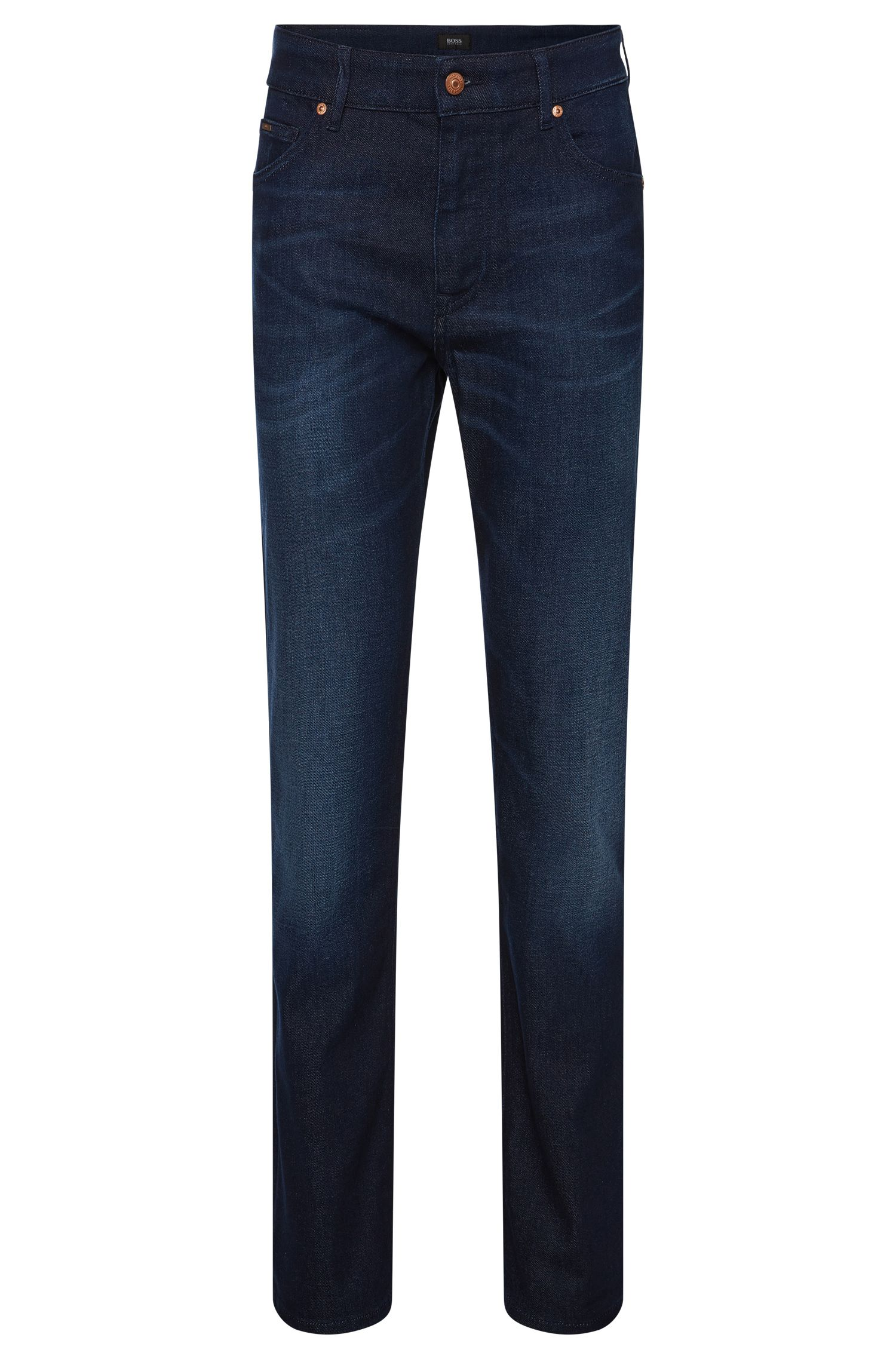 Relaxed-Fit Jeans aus Baumwoll-Mix mit Elasthan: 'Albany'